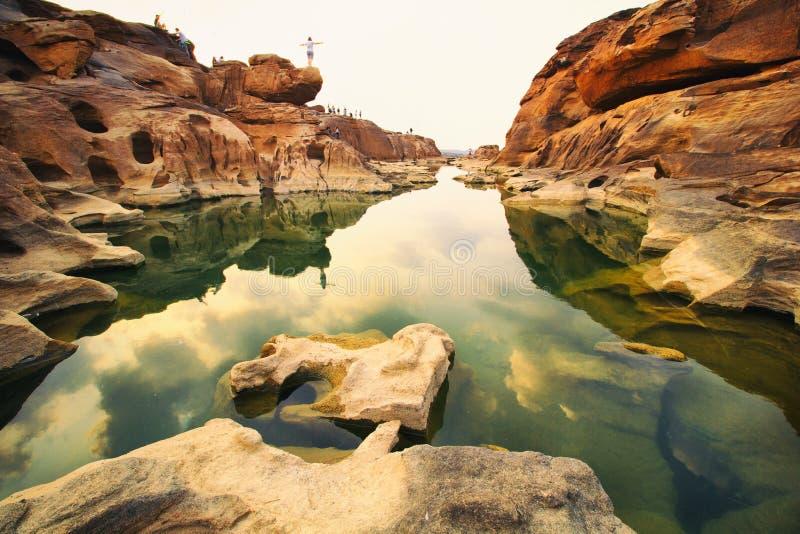 Grand Canyon. SAM PAN BOCK The Grand Canyon of Thailand stock photo