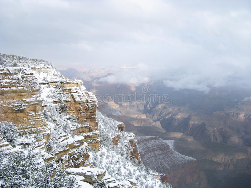 Download Grand Canyon Snow Royalty Free Stock Photo - Image: 16614235