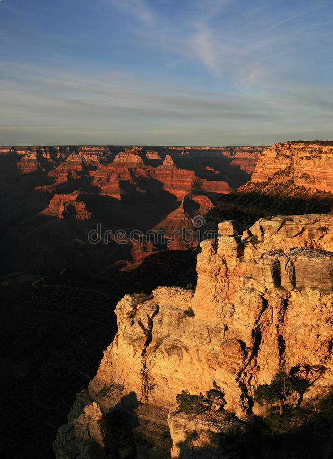 Grand Canyon South Rim Royalty Free Stock Photo