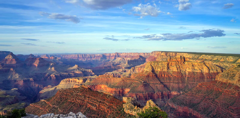 Grand Canyon, South Rim, Arizona, United States of America stock images