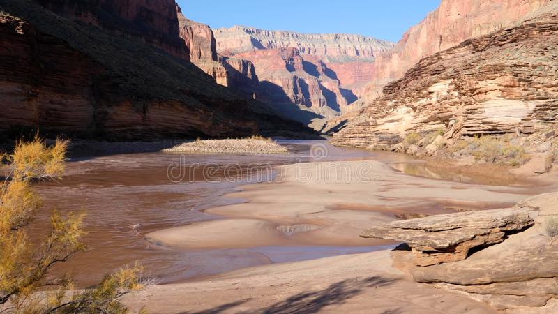 Grand Canyon, South Rim, Arizona, United States of America royalty free stock photography