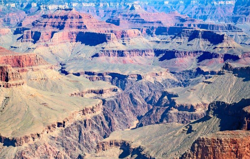 Grand Canyon. South Rim of the Grand Canyon. `Grand Canyon` National Park in Arizona, USA royalty free stock photos