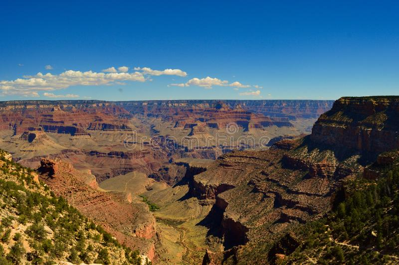 Grand Canyon south rim stock photo
