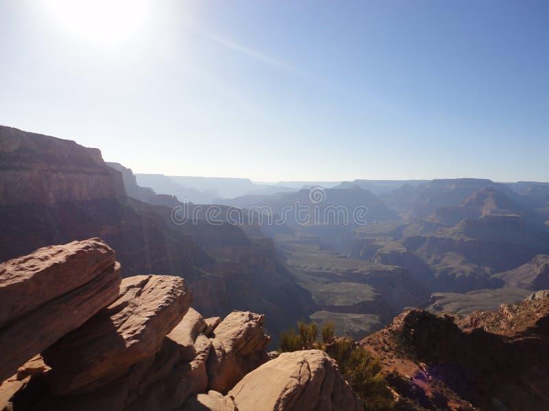 Grand Canyon Sun stock photography