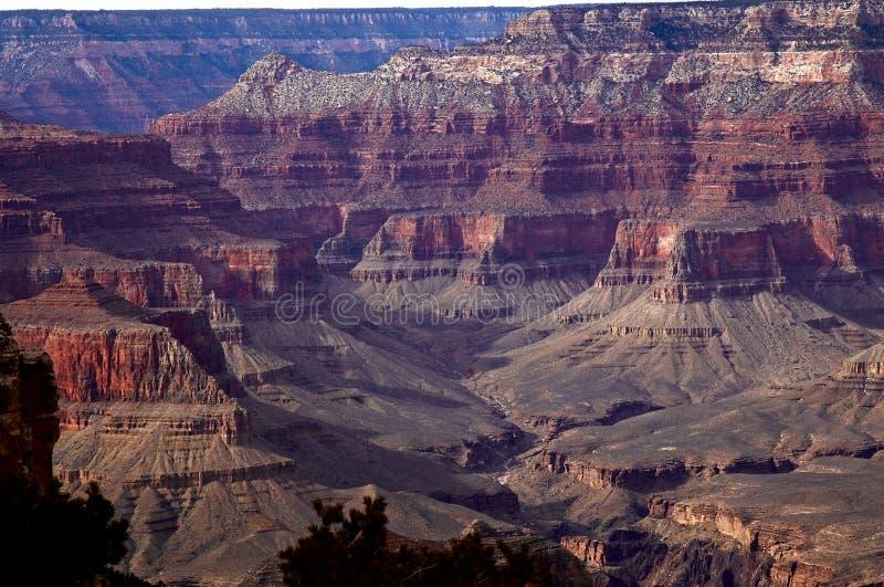 Grand Canyon Sunset stock photography