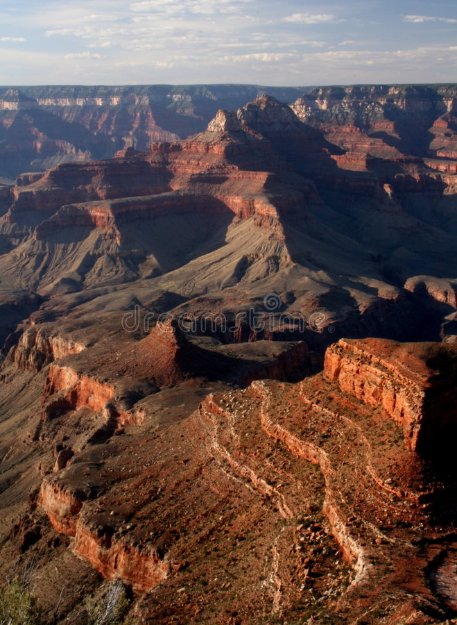 Download Grand canyon sunset stock image. Image of background, barren - 4450443