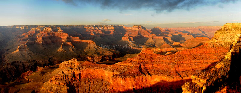 Download Grand Canyon Sunset Panorama Stock Photo - Image: 15121972