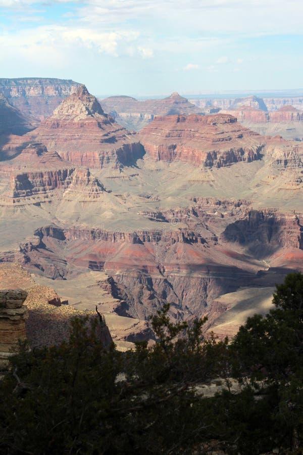 Grand Canyon -Uitzicht, Arizona royalty-vrije stock afbeeldingen