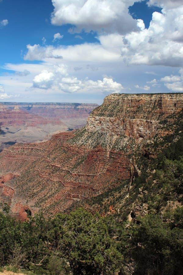 Grand Canyon -Uitzicht, Arizona stock afbeeldingen
