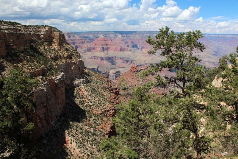 Grand Canyon -Uitzicht, Arizona stock foto's
