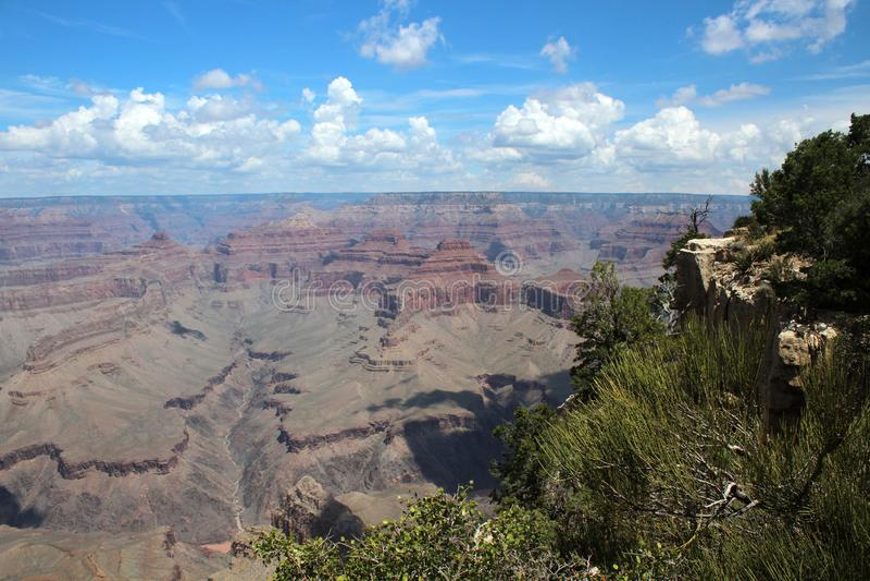 Grand Canyon -Uitzicht, Arizona stock foto
