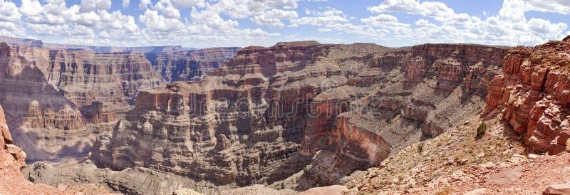 Grand Canyon (västra kant) arkivbilder