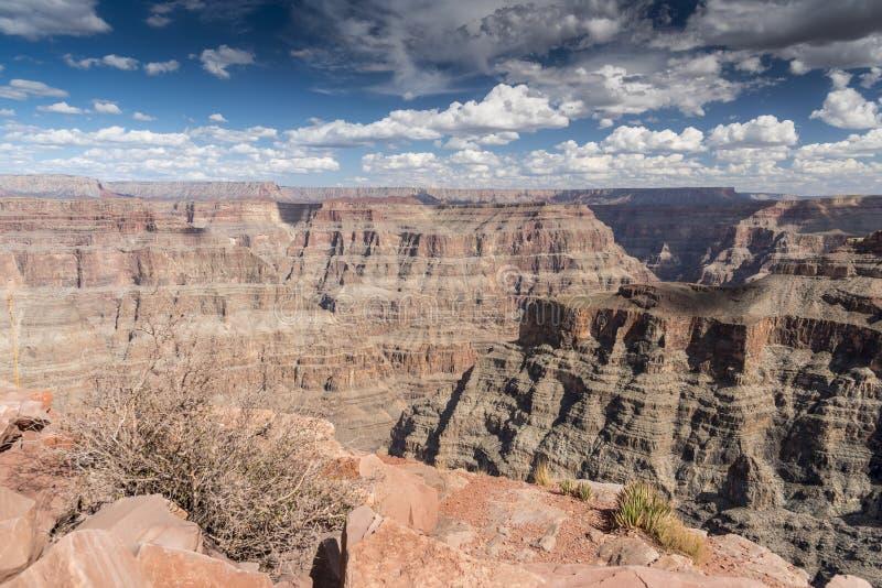 Grand Canyon van Guanopunt stock foto