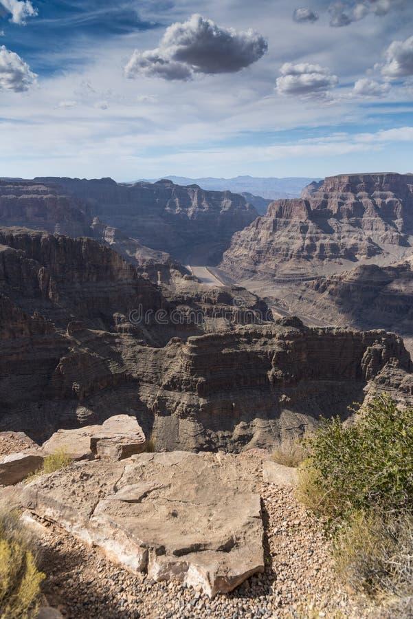 Grand Canyon van Guanopunt stock fotografie