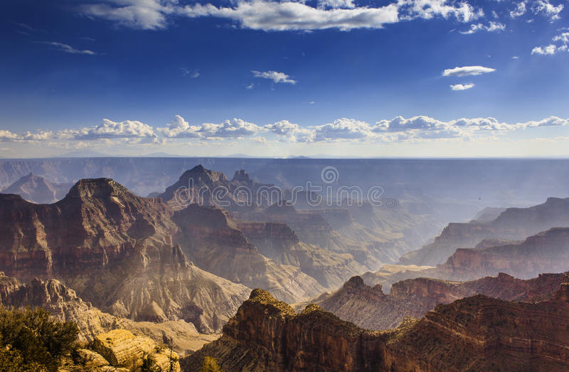 Grand Canyon. View of the Grand Canyon royalty free stock image
