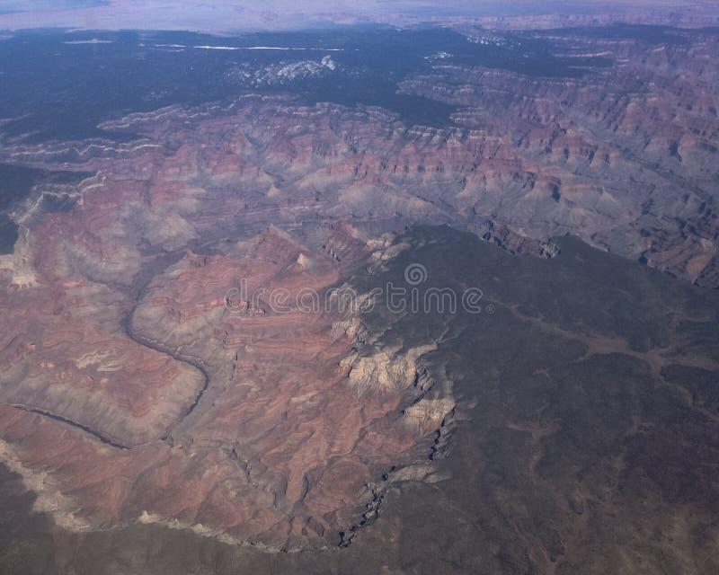 grand canyon w powietrzu obraz royalty free