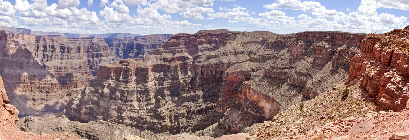 Grand Canyon (west rim) stock images