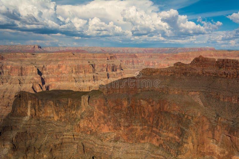Grand Canyon West Rim. Canyon walls near Skywalk, Grand Canyon West Rim royalty free stock image