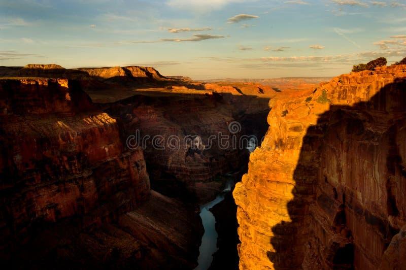 grand canyon, wschód słońca zdjęcia royalty free