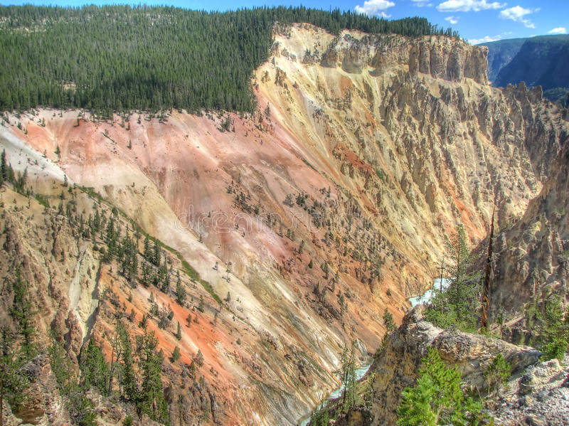 Download Grand Canyon Of The Yellowstone In Wyoming, USA Stock Photo - Image: 24575888