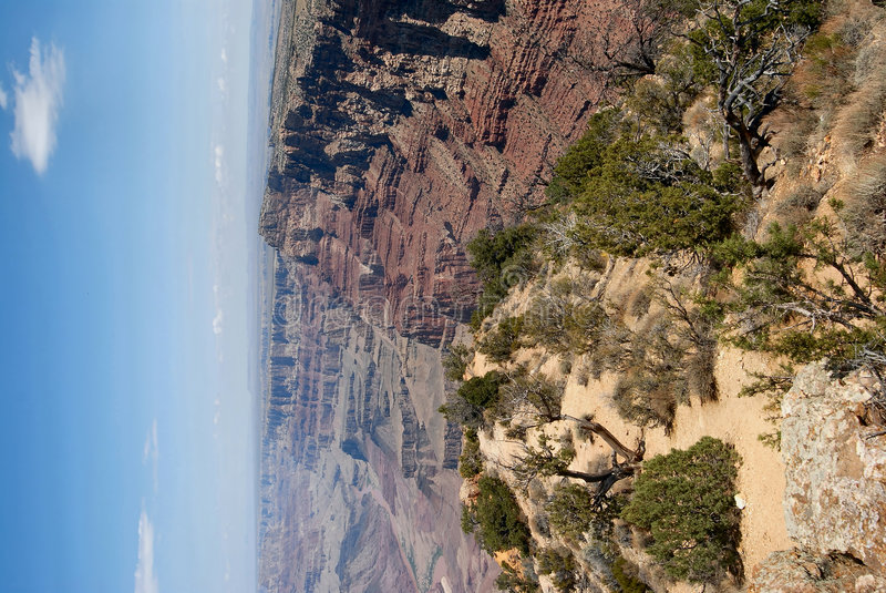 Grand Canyonansicht stockfotografie