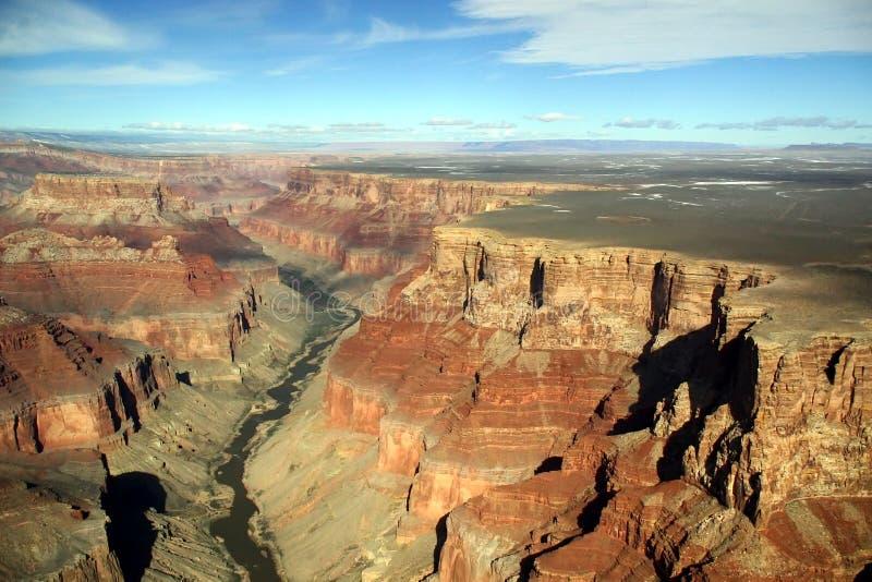 Grand- Canyonantenne lizenzfreie stockfotografie