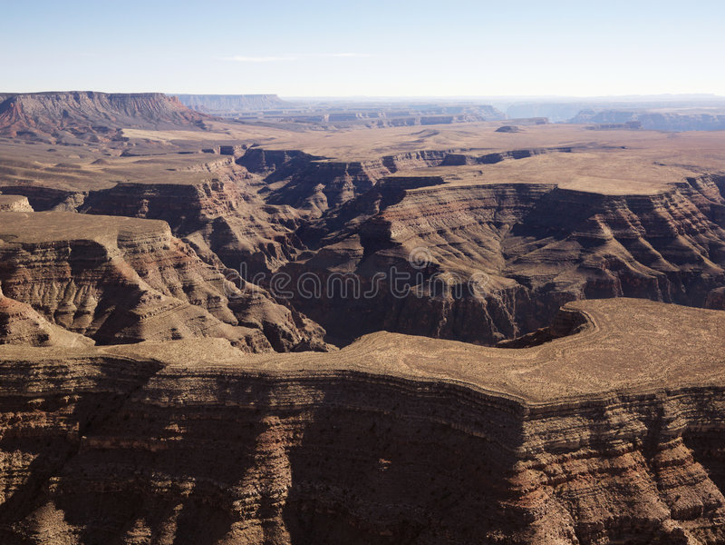 Grand Canyonantenne. lizenzfreie stockfotos