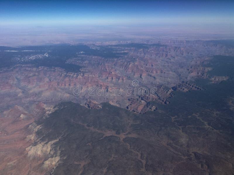 Grand- Canyonantenne stockfotos