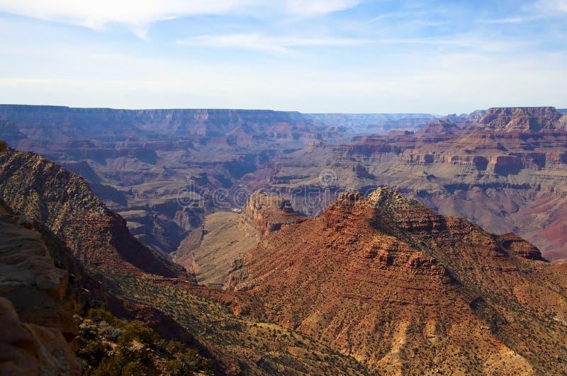 Grand- Canyondämmerung lizenzfreie stockfotos