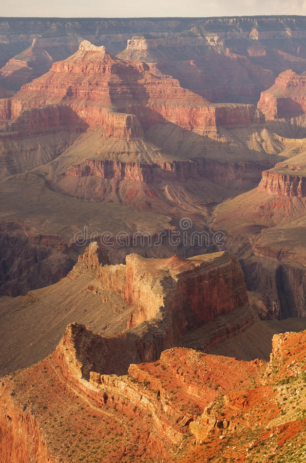Grand- Canyondetail lizenzfreie stockfotos