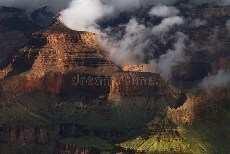 Grand Canyondetail stockfotografie