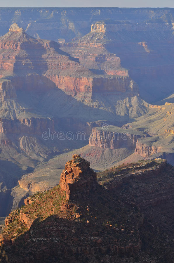 Grand- Canyonfarbe stockfotos