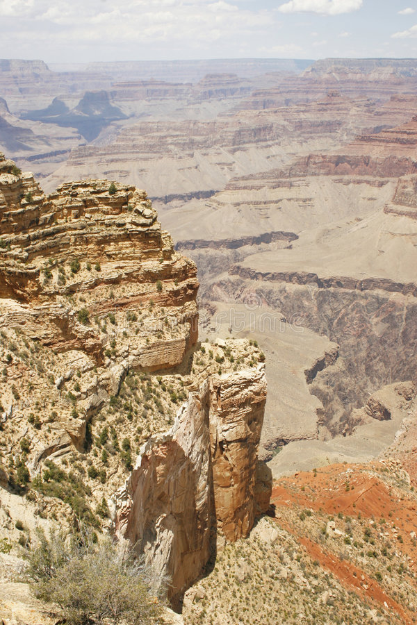 Grand Canyonklippen lizenzfreies stockbild