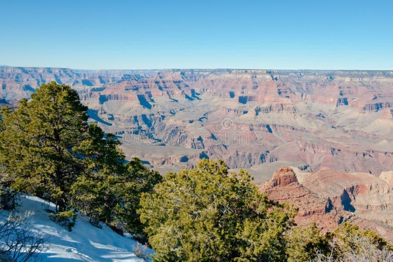 Grand Canyonlandschaft stockfotos