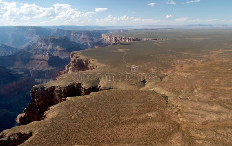 Grand- CanyonLuftaufnahme lizenzfreies stockfoto