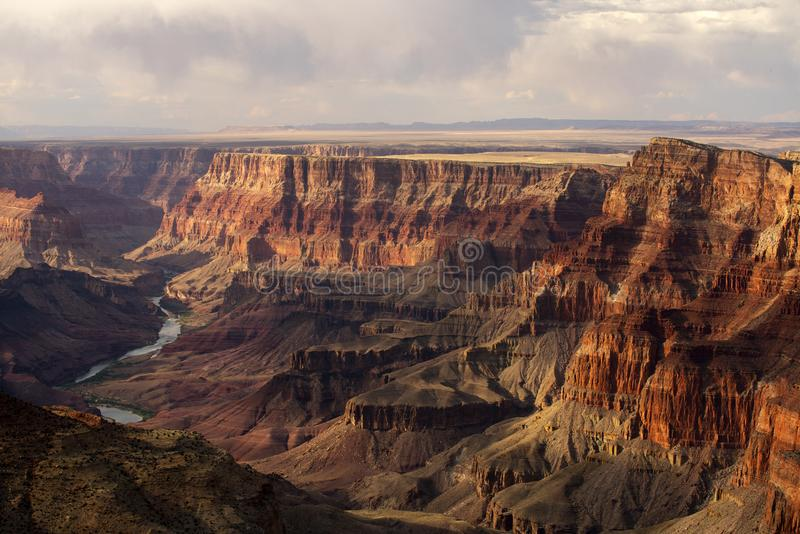 Grand- CanyonNationalpark in Arizona stockfoto