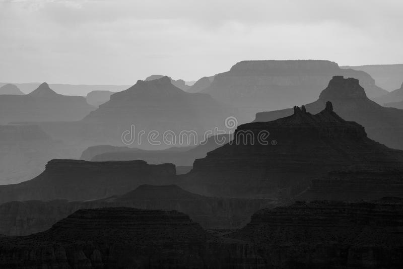 Grand- CanyonNationalpark in Arizona stockfotografie