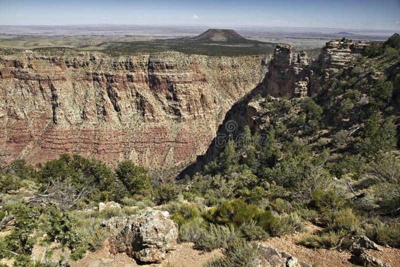 Grand- CanyonNationalpark, Arizona, USA Szenische Vogelperspektive für lizenzfreies stockbild