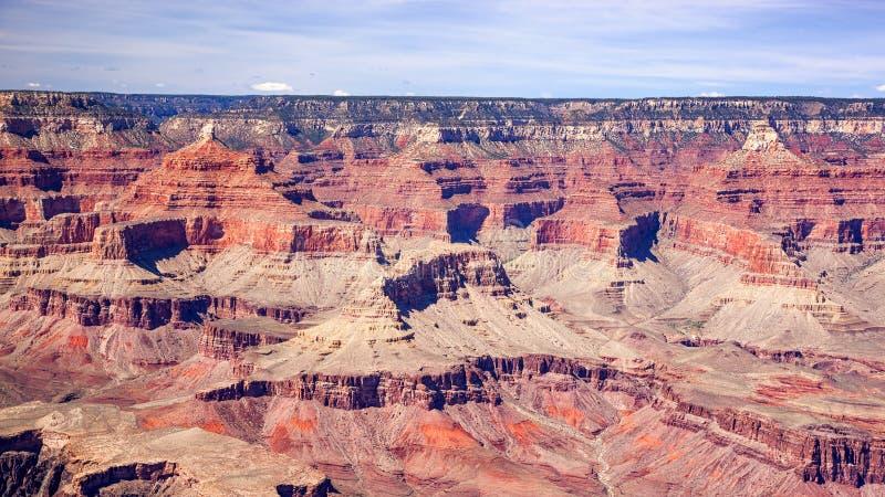 Grand Canyonpanorama lizenzfreie stockbilder