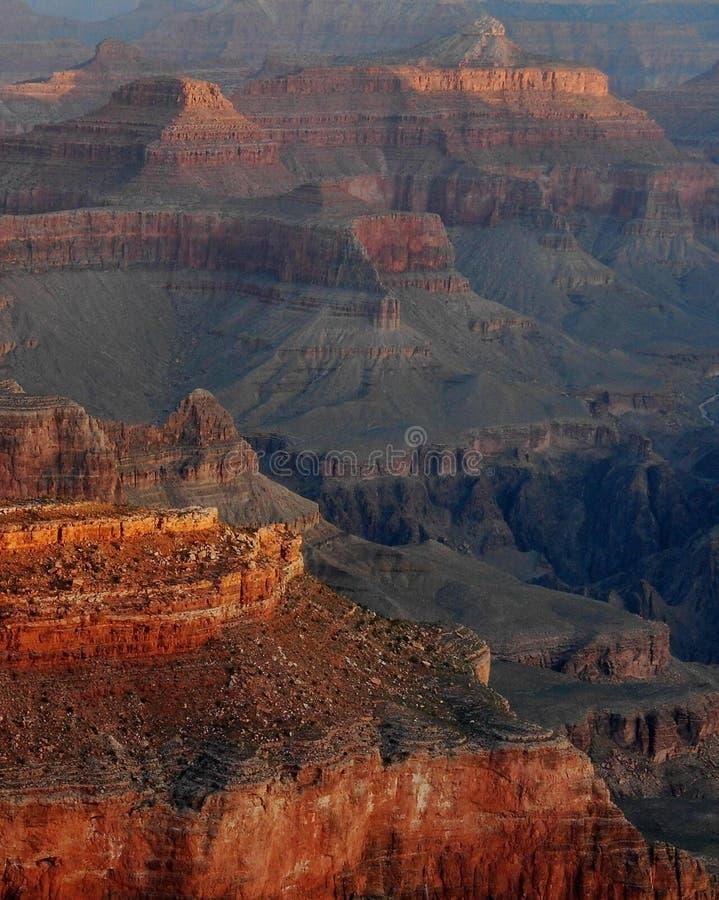 Grand- Canyontempel-Anordnungen lizenzfreies stockfoto