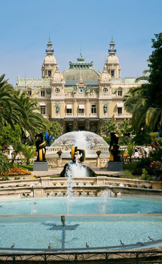 Grand Casino in Monte Carlo. View on Grand Casino in Monte Carlo, Monaco stock images