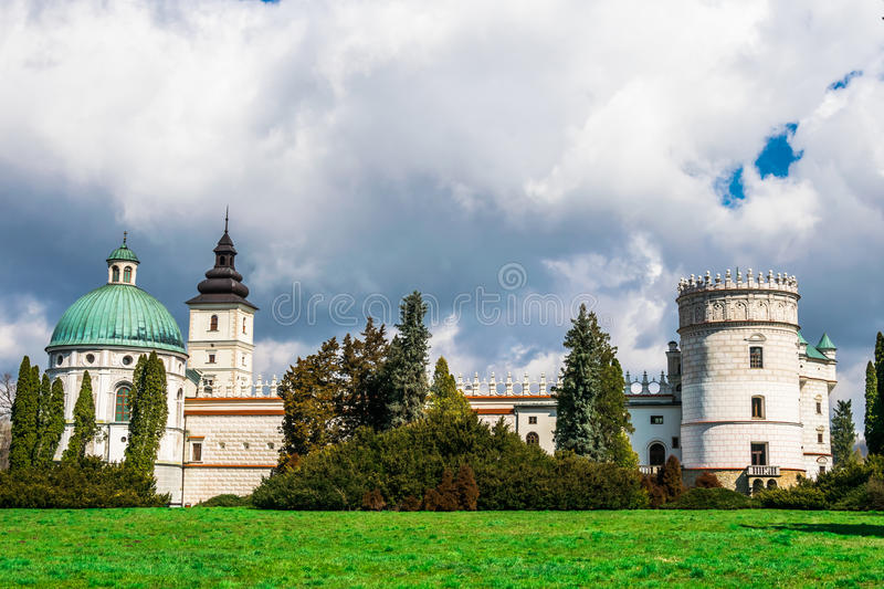 Grand Castle in Poland, Europe. royalty free stock photo