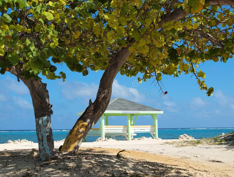 Grand Cayman Beach - East End royalty free stock images