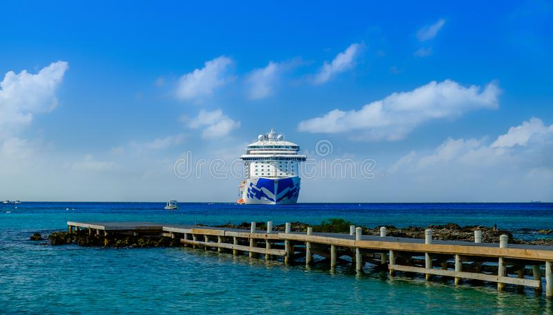The Regal Princess royalty free stock image