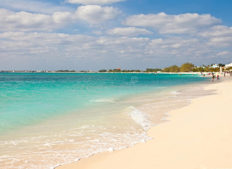 Seven Mile Beach stock images