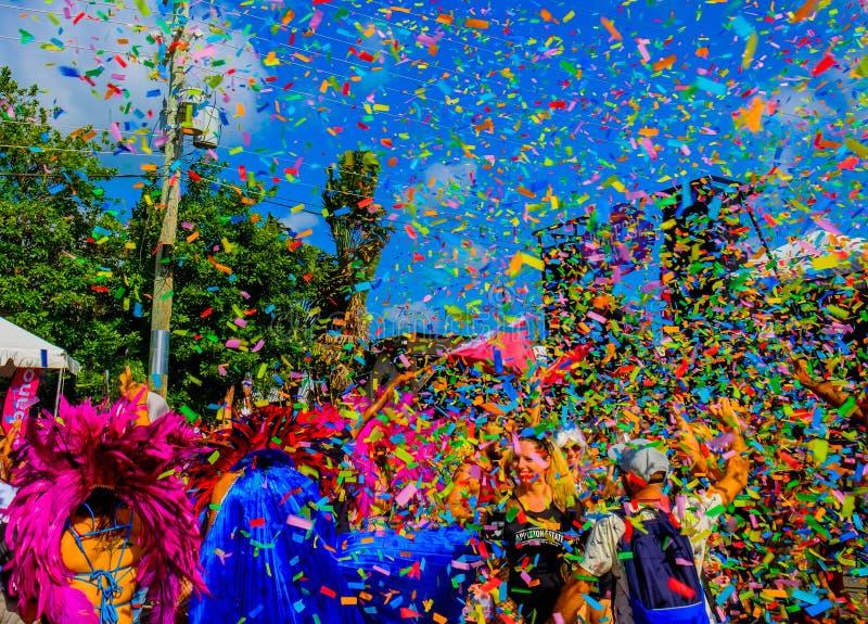 Grand Cayman-Karneval lizenzfreies stockfoto