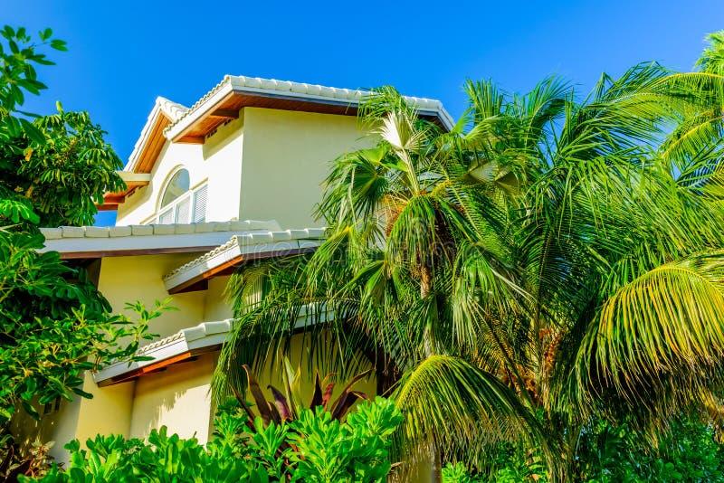 Grand Cayman, Meerblick Villa-2 stockfotos