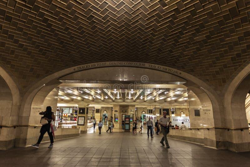 Grand Central Śmiertelnie w Miasto Nowy Jork, usa zdjęcia royalty free