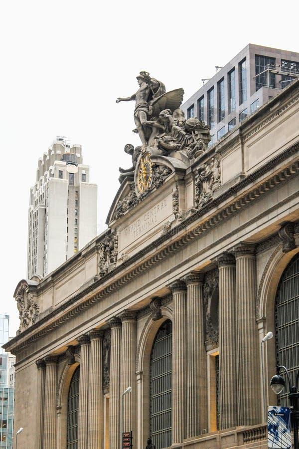 Grand Central -Anschluss in Manhattan lizenzfreies stockfoto