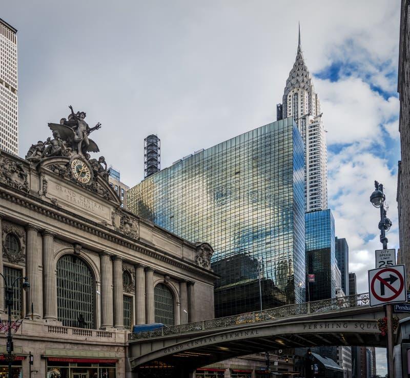 Grand Central -Anschluss- New York, USA lizenzfreies stockbild